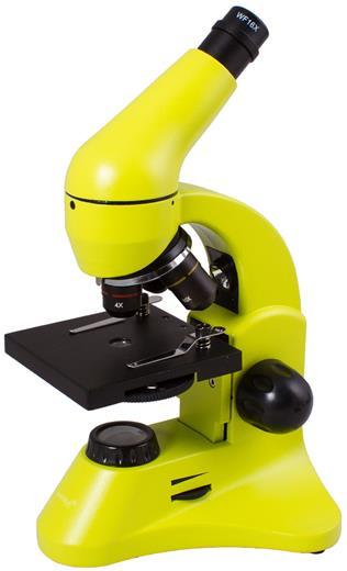 Mikroskop Levenhuk Rainbow 50L PLUS Lime