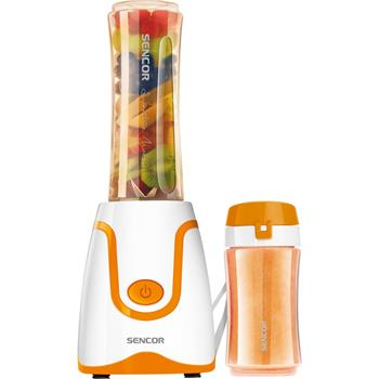 Mixér Sencor SBL 2203OR na smoothie bílo-oranžový