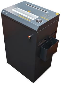 Skartovač AT-70C DIN 3, 4x40mm, 22 listů, 53l, CD+DVD, Credit Card, Sponky, Diskety, NBÚ