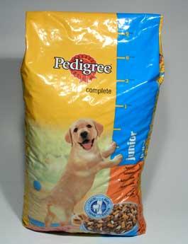 Granule Pedigree Dry Junior šteňa 15kg