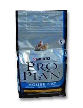 Granule Purina Proplan Cat Housecat Chicken&Rice 3kg