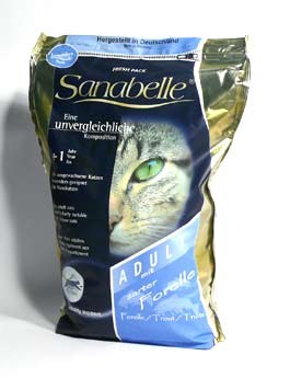 Granule Bosch Cat Sanabelle Adult Pstruh 400g