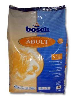 Granule Bosch Dog Adult Drůbeží&Špalda 3kg