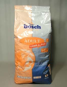 Granule Bosch Dog Adult Lamb&Rice 15kg