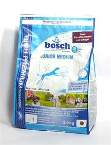 Granule Bosch Dog Junior Mini 15kg