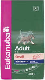 Granule Eukanuba Dog Adult Small 3kg