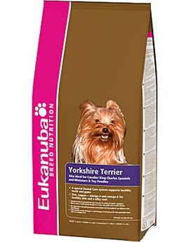 Granule Eukanuba Dog Breed N. Yorkshire Terrier 2kg