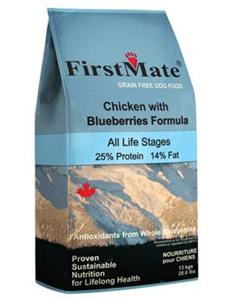 Granule First Mate Dog Chicken& Blueberry 2,3kg