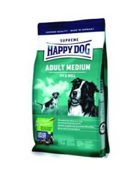 Granule Happy Dog Supreme Adult Fit&Well Medium 12.5kg