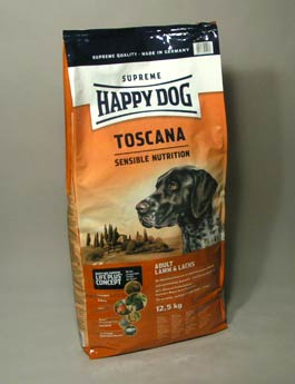 Granule Happy Dog Supreme SensibleToscana Lamb 12,5kg