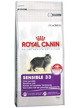 Granule Royal Canin kom. Feline Sensible 400g