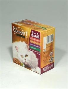 Konzerva Gourmet Gold  kočka k.masa ExoticMulti 7x +1x ZDARMA 85g