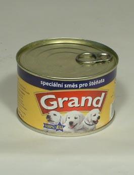 Konzerva Grand  štěně speciální mas.směs 405g