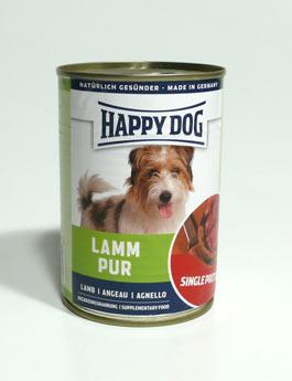 Konzerva Happy Dog  Lamm Pur Jehněčí 400g