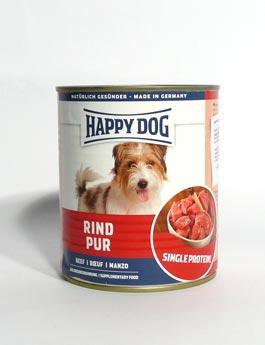 Konzerva Happy Dog  Rind Pur Hovězí 800g