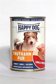 Konzerva Happy Dog  Truthahn Pur krůtí 400g