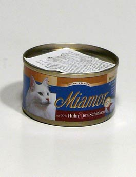 Konzerva Miamor Cat Filet konzerva kuře+šunka 100g