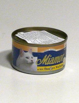 Konzerva Miamor Cat Filet  tuňák+křepelčí vejce100g