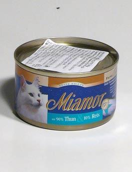 Konzerva Miamor Cat Filet  tuňák+rýže 100g