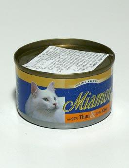 Konzerva Miamor Cat Filet konzerva tuňák+sýr 100g