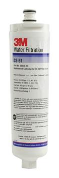 Filter 3M CS51 vodní pro lednice Bosch/Siemens